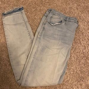 Mossino high rise skinny jean size 12 /31